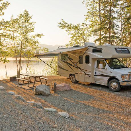 Sonnenaufgang im Boya Provincial Park