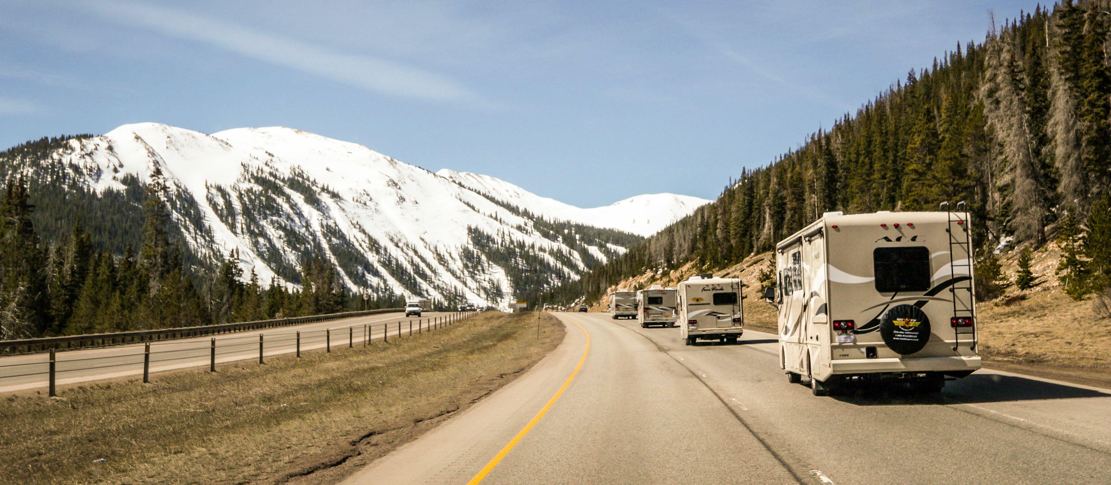 Gruppenreise mit Roadbear-Campern durch die USA