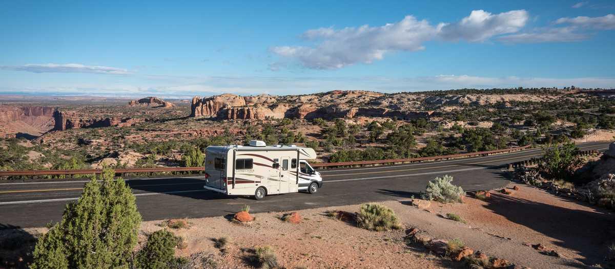 Unterwegs mit einem Road Bear C20-23 im Canyonlands-Nationalpark