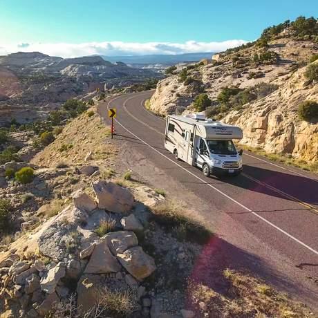 Unterwegs mit dem Road Bear C20-23 auf der Utah State Route 12