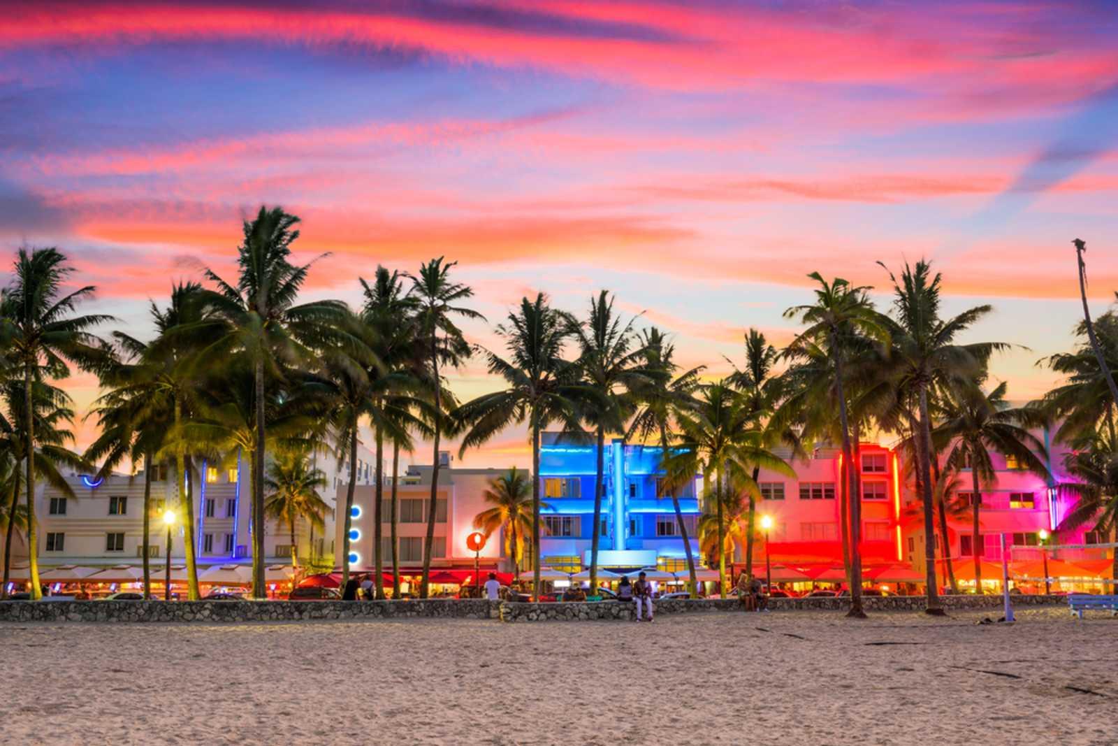 Art-déco-Viertel, Miami Beach