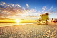 Sonnenuntergang Miami Beach, Florida