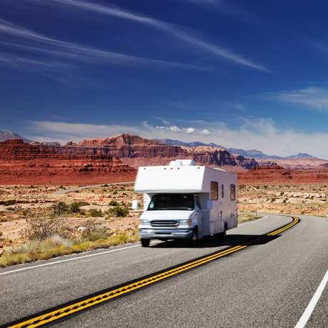 Wohnmobil-Tour durch Utah