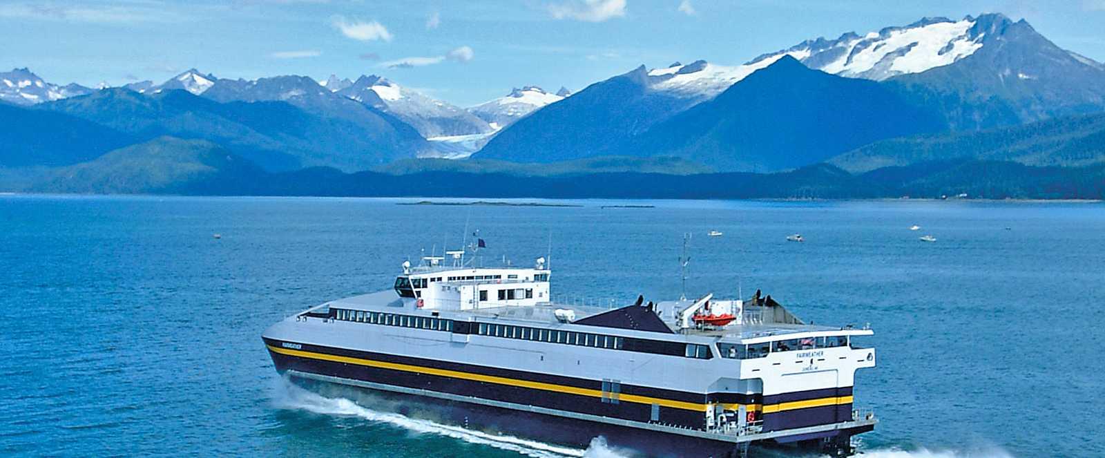 Schiff von Alaska Ferry