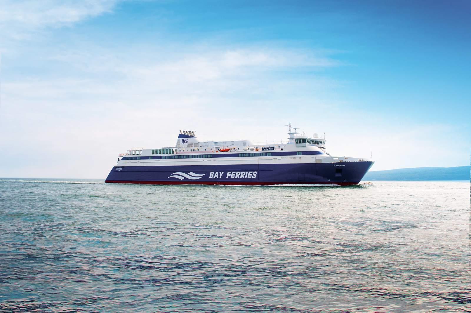 """Die """"MV Fundy Rose"""" Fähre von Bay Ferries Limited"""