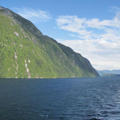 Unterwegs mit einer BC Ferries von Sechelt bis Powell River und zurück, British Columbia