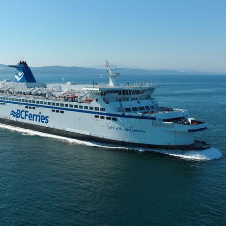 Spirit of British Columbia der BC Ferries