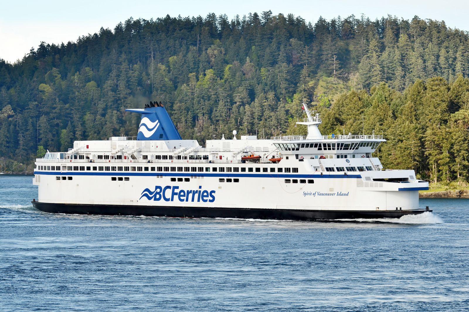 Spirit of Vancouver Island der BC Ferries