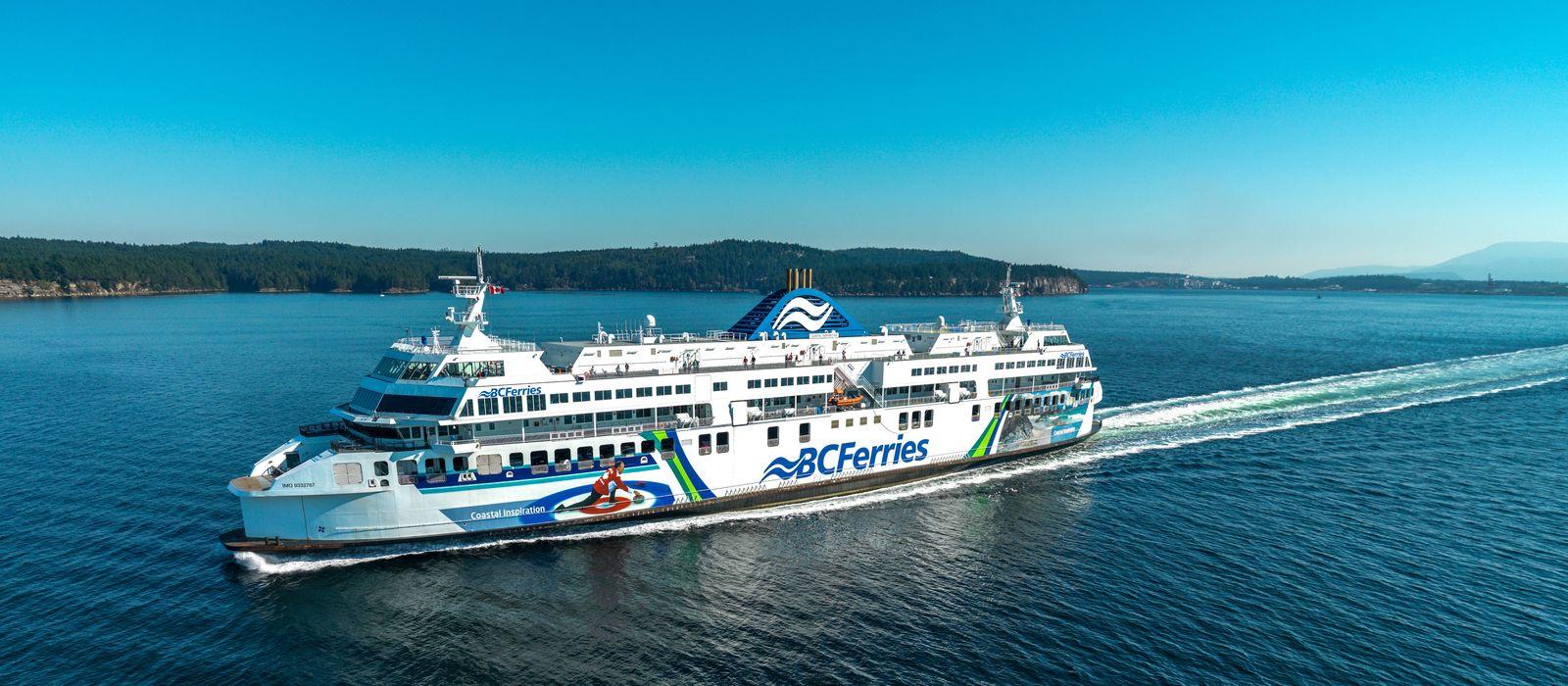 Coastal Inspiration der BC Ferries