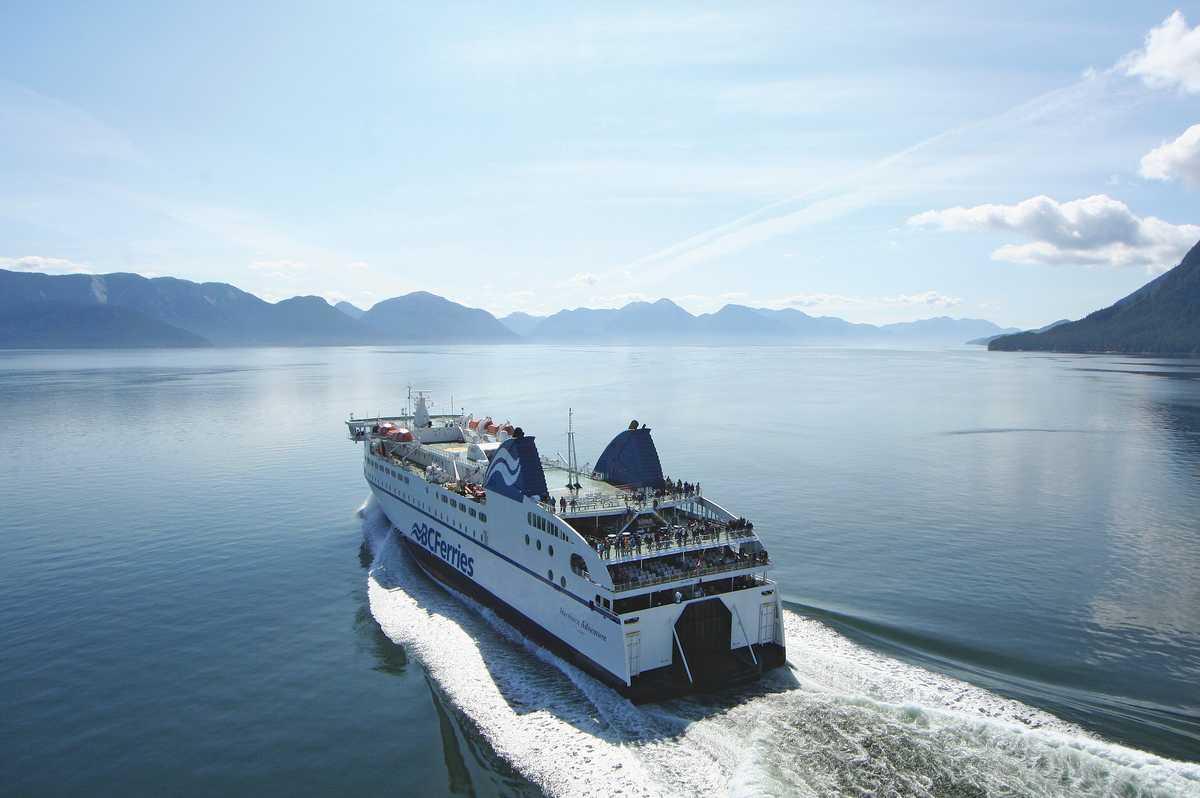 Impressionen Northern Adventure BC Ferries