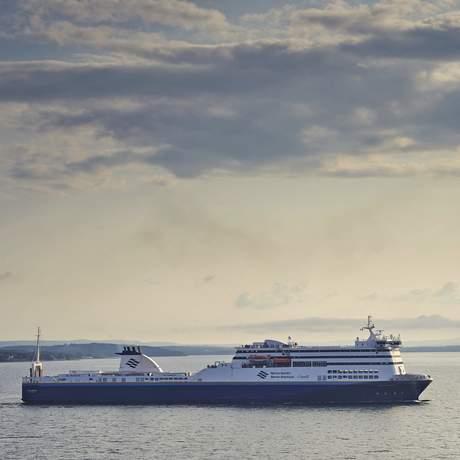 """Die """"MV Highlanders"""" Fähre von Marine Atlantic"""