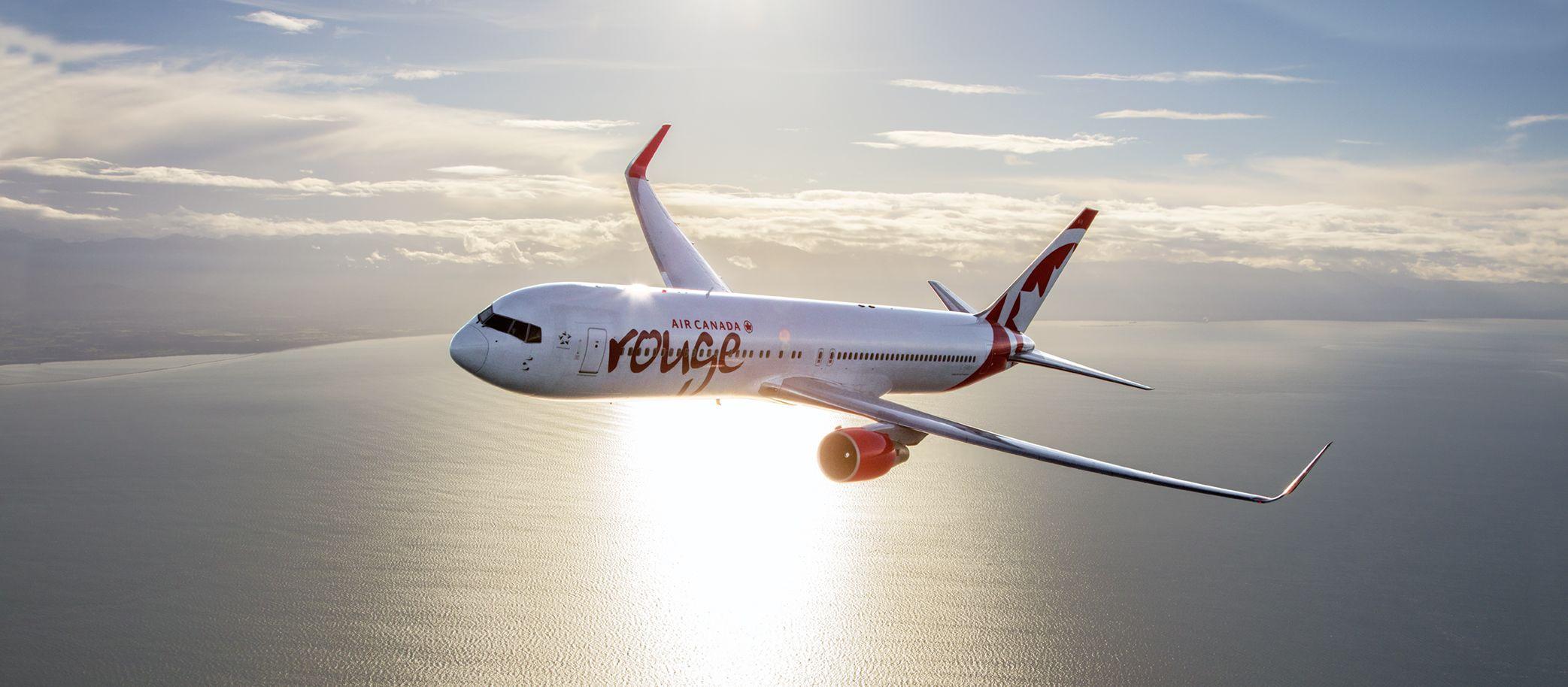 Die Boeing 767 300 Coastal von Air Canada Rouge
