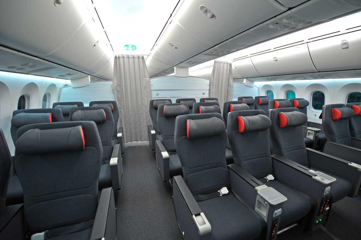 Impressionen aus der Premium Economy von Air Canada