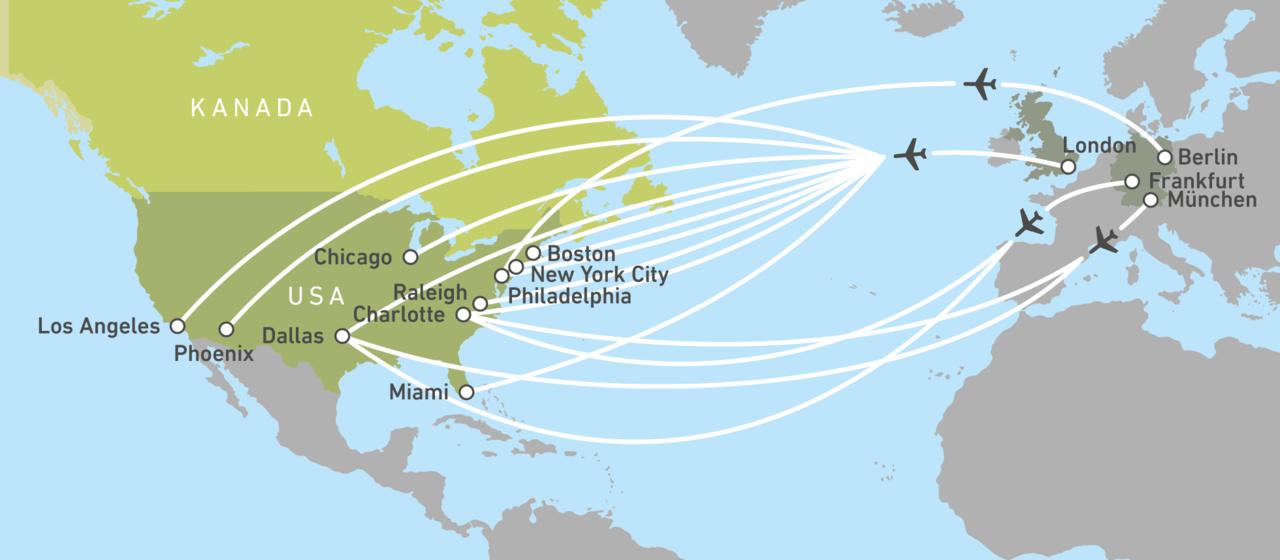 Mit American Airlines In Die Usa Fliegen Canusa