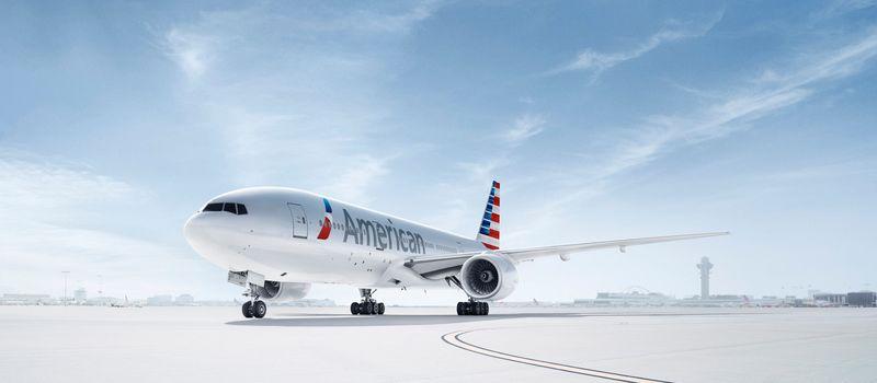 Boeing 777-200 von American Air Lines
