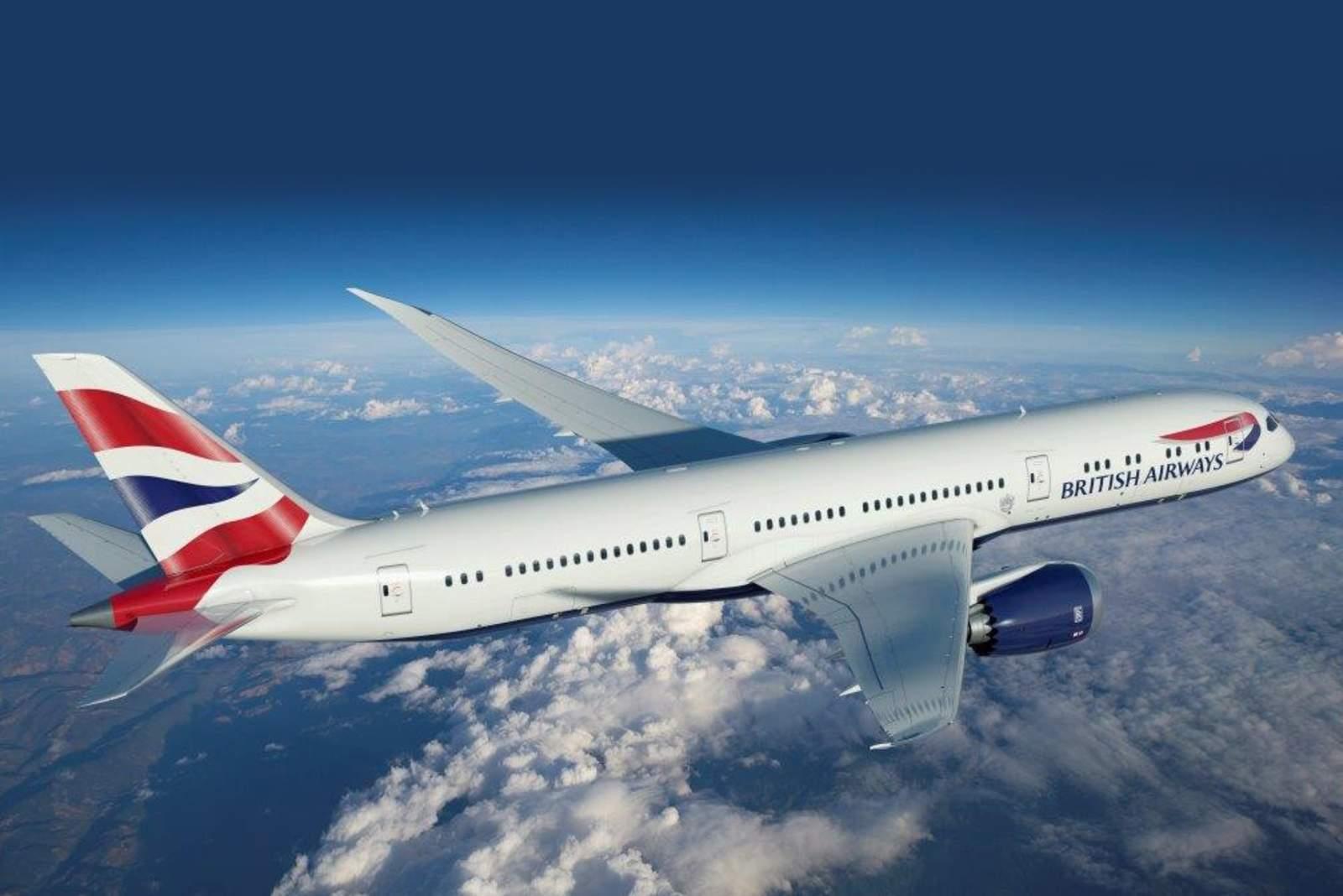 Aussenansicht der British Airways B-787