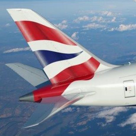 Aussenansicht der British Airways B-787