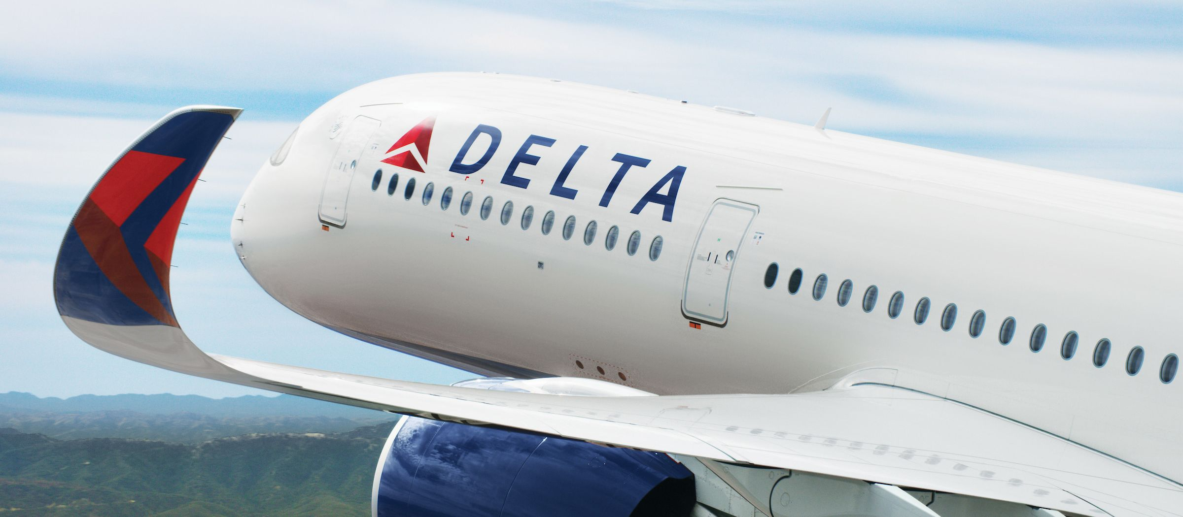 Ein Airbus A350 von Delta Air Lines