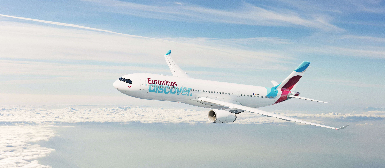 Flug über die Wolken mit Eurowings Discover