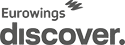 Logo in anthrazit der Airline Eurowings Discover