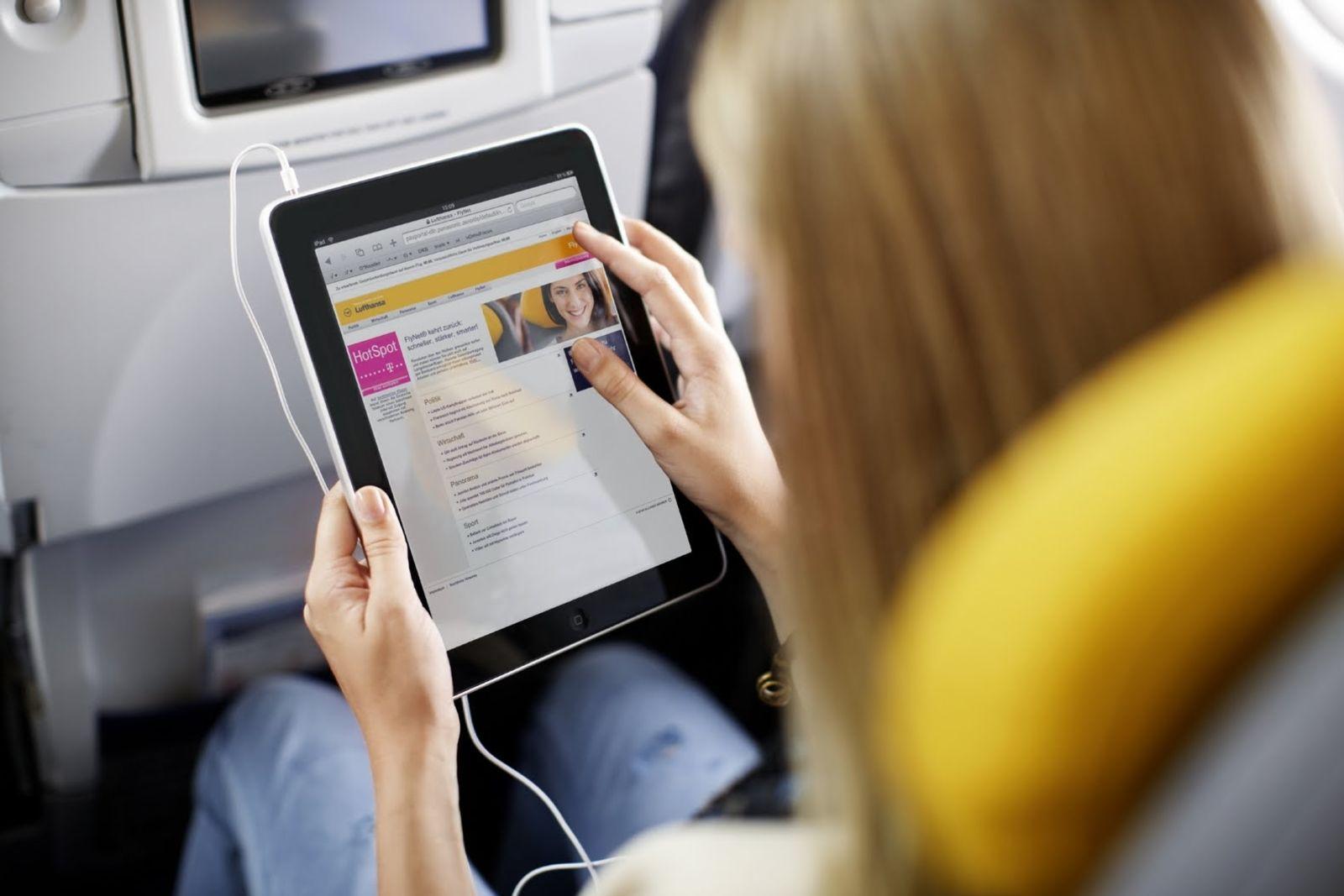 Lufthansa Flynet Economy Class