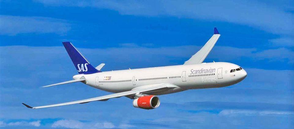 Flugzeug von SAS