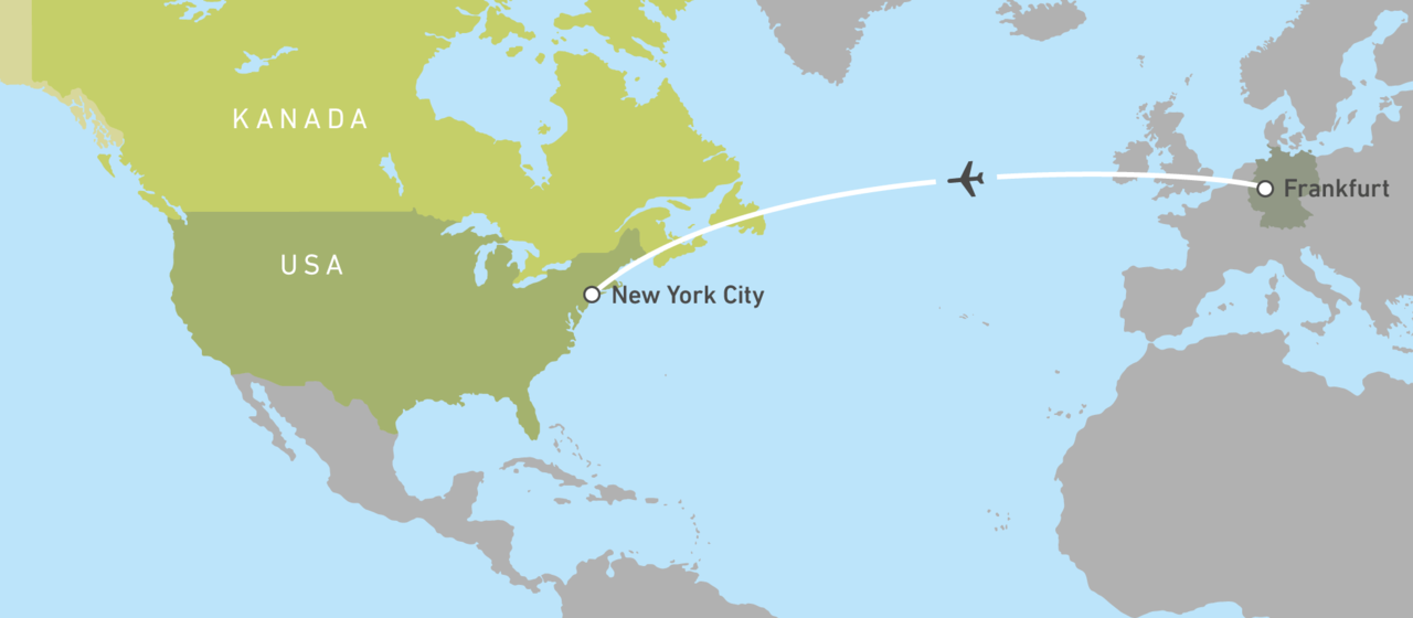 Mit Singapore Airlines von Frankfurt nach New York City! | CANUSA