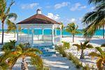 Pavillon mit Meeresblick Abaco Bahamas
