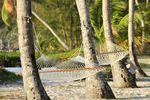 Hängematte auf  Andros Bahamas