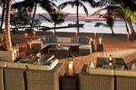 Gemütliche Terrasse mit Meeresblick