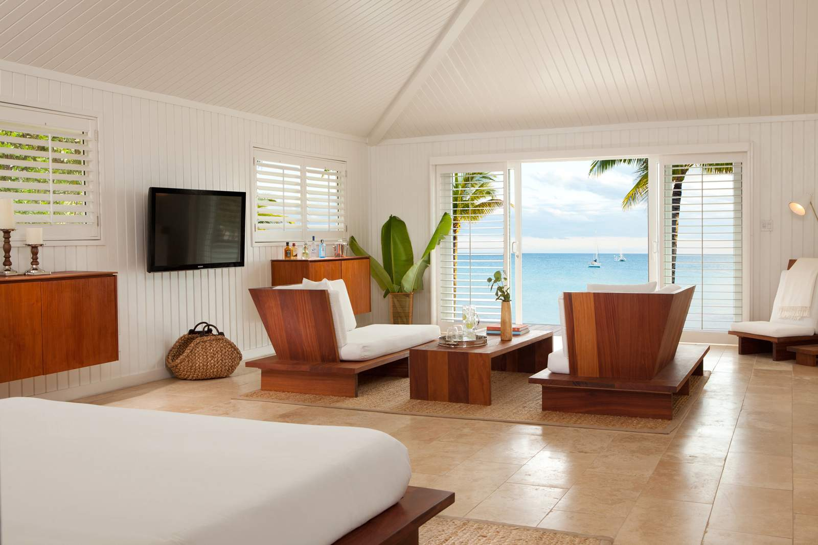 Suite mit Meerblick im The Cove****