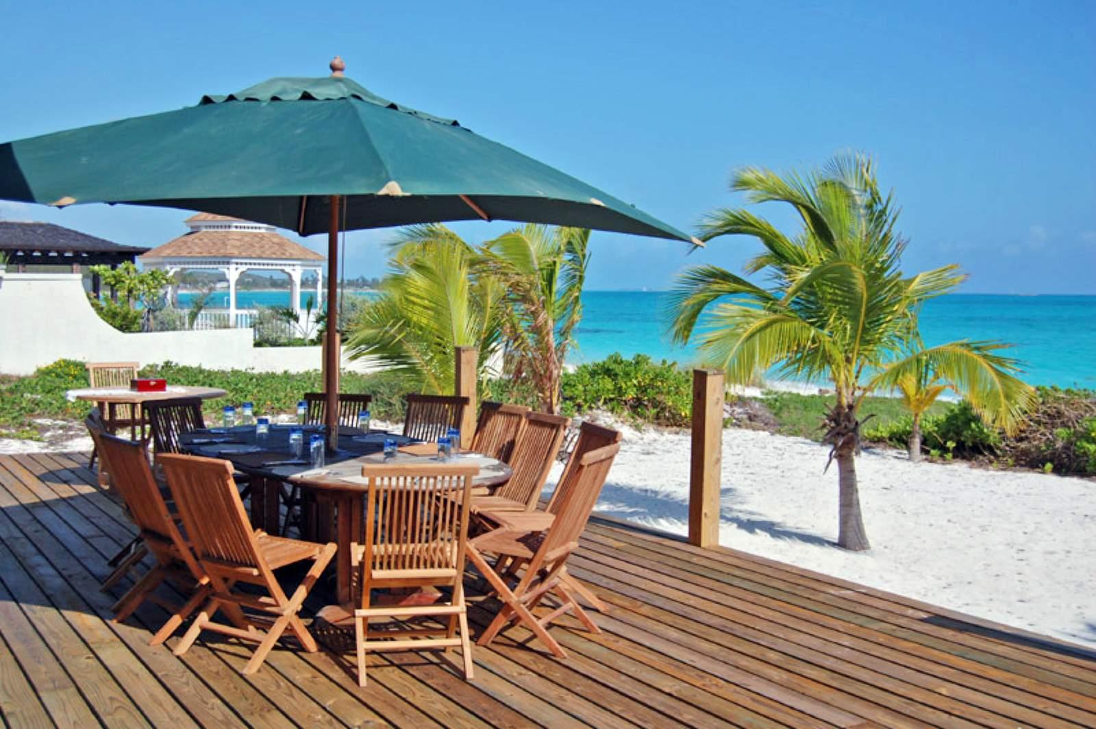 Paradise Bay Bahamas*** - Terrasse vom Cottage