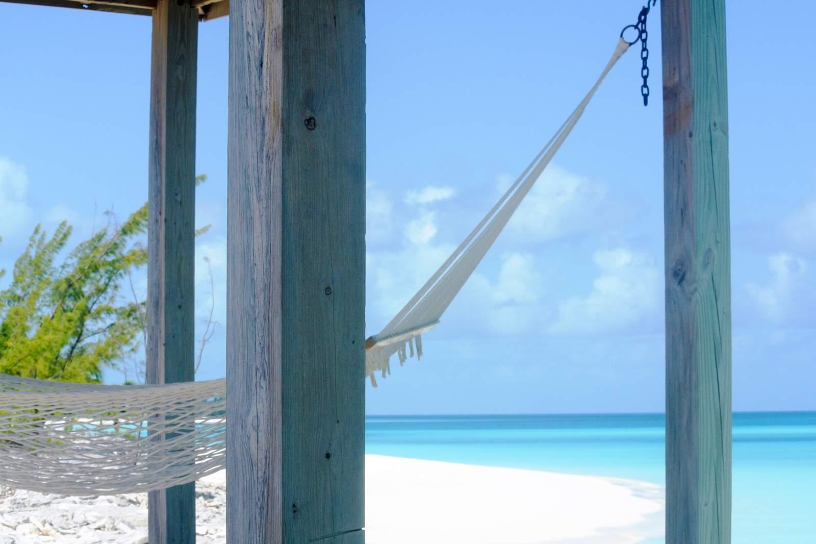 Relaxen auf Long Island, Bahamas