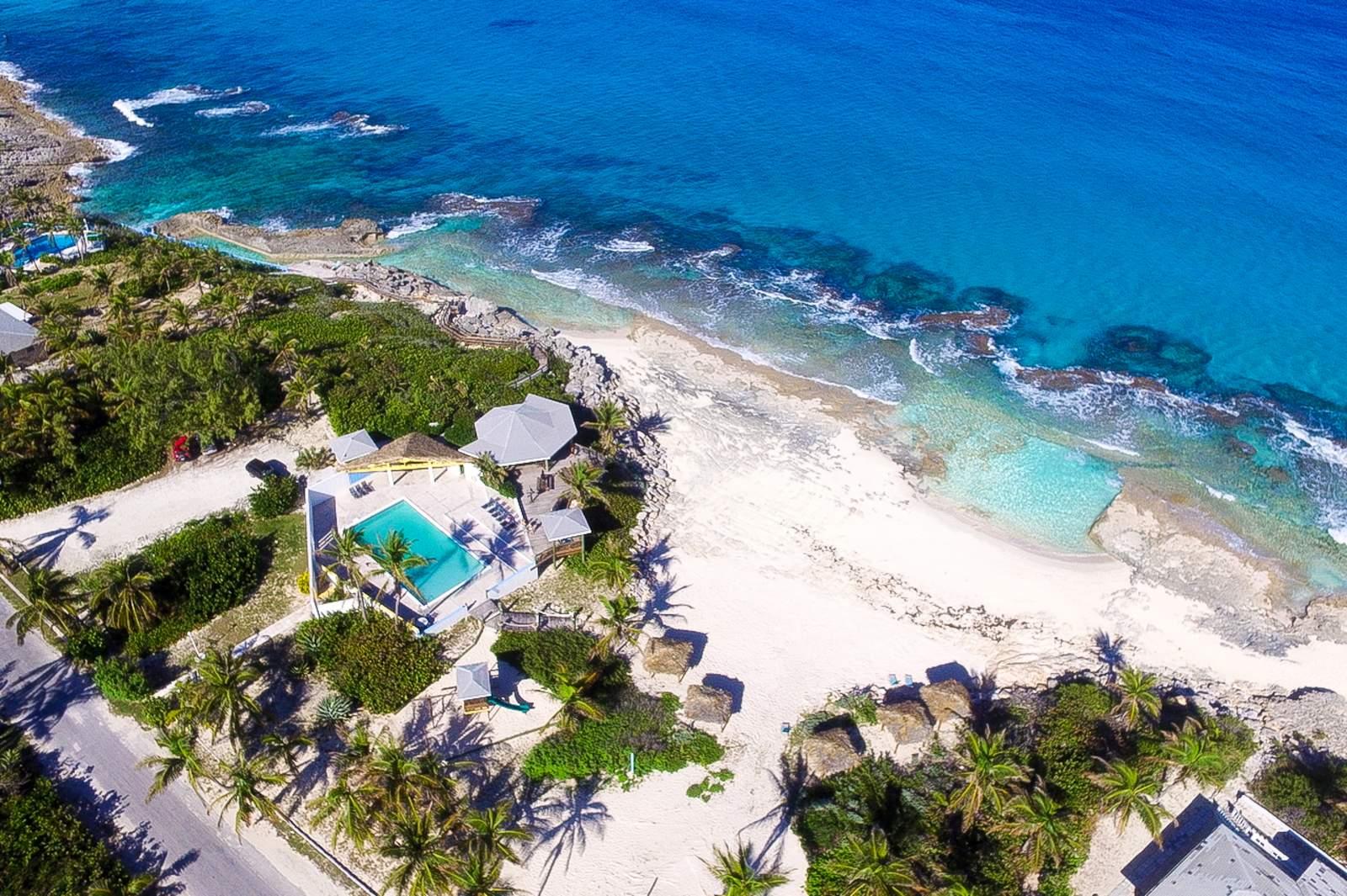 Stella Maris Resort aus der Vogelperspektive