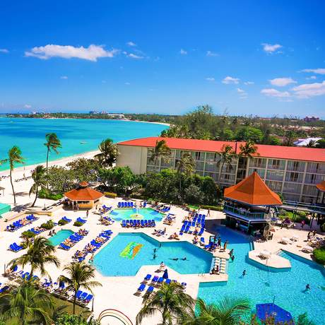 Breezes Resort Bahamas All Inclusive, Luftaufnahme vom Resort
