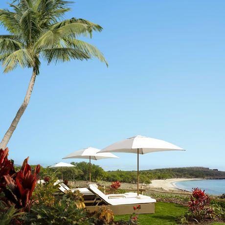 Hulopoe Bay beim Four Seasons auf Lanai, Hawaii