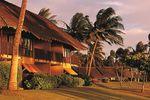 Die Abenddämmerung auf Molokai, Hawaii