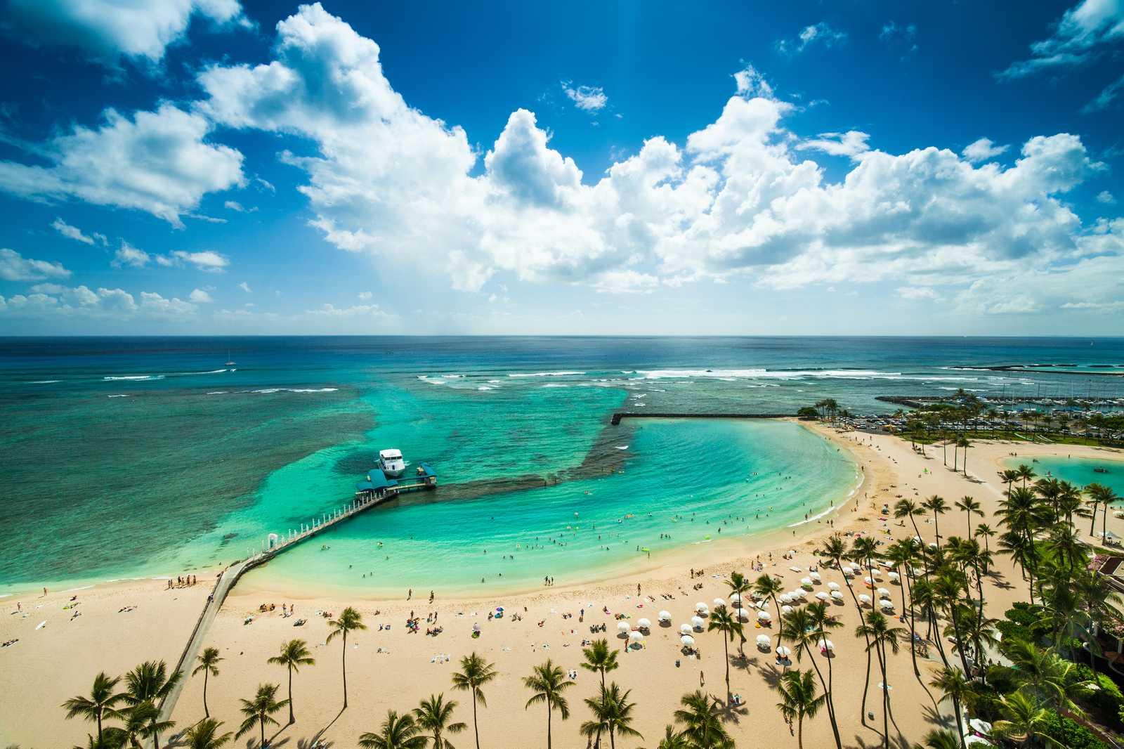 Waikiki Strand, Oahu