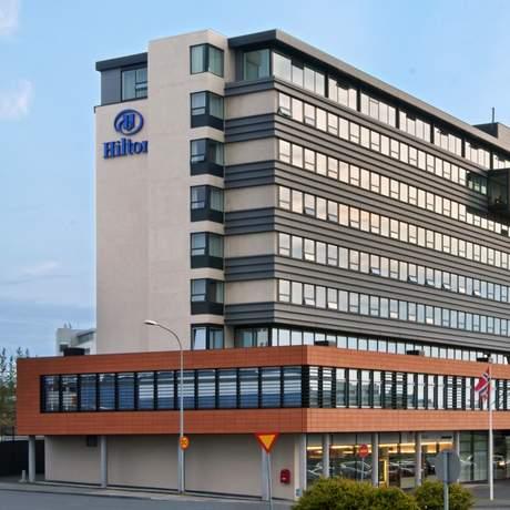 Hilton Reykjavik Nordica, Außenansicht