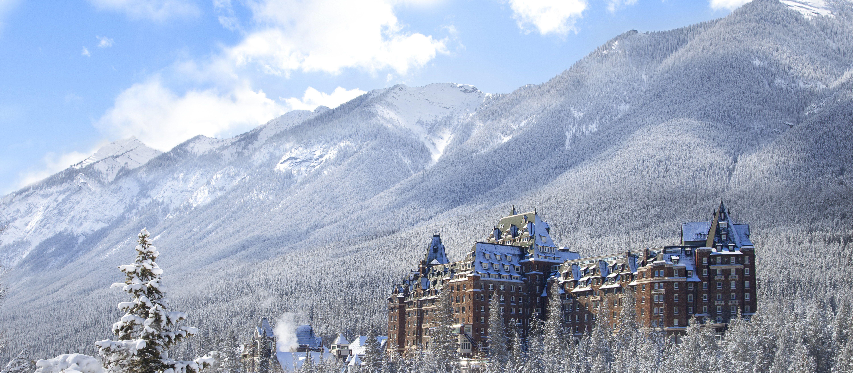 Das verschneite Chateau