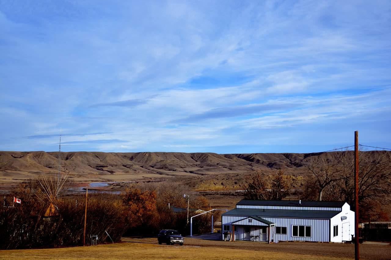 Das Gelände der Bar Diamond Guest Ranch