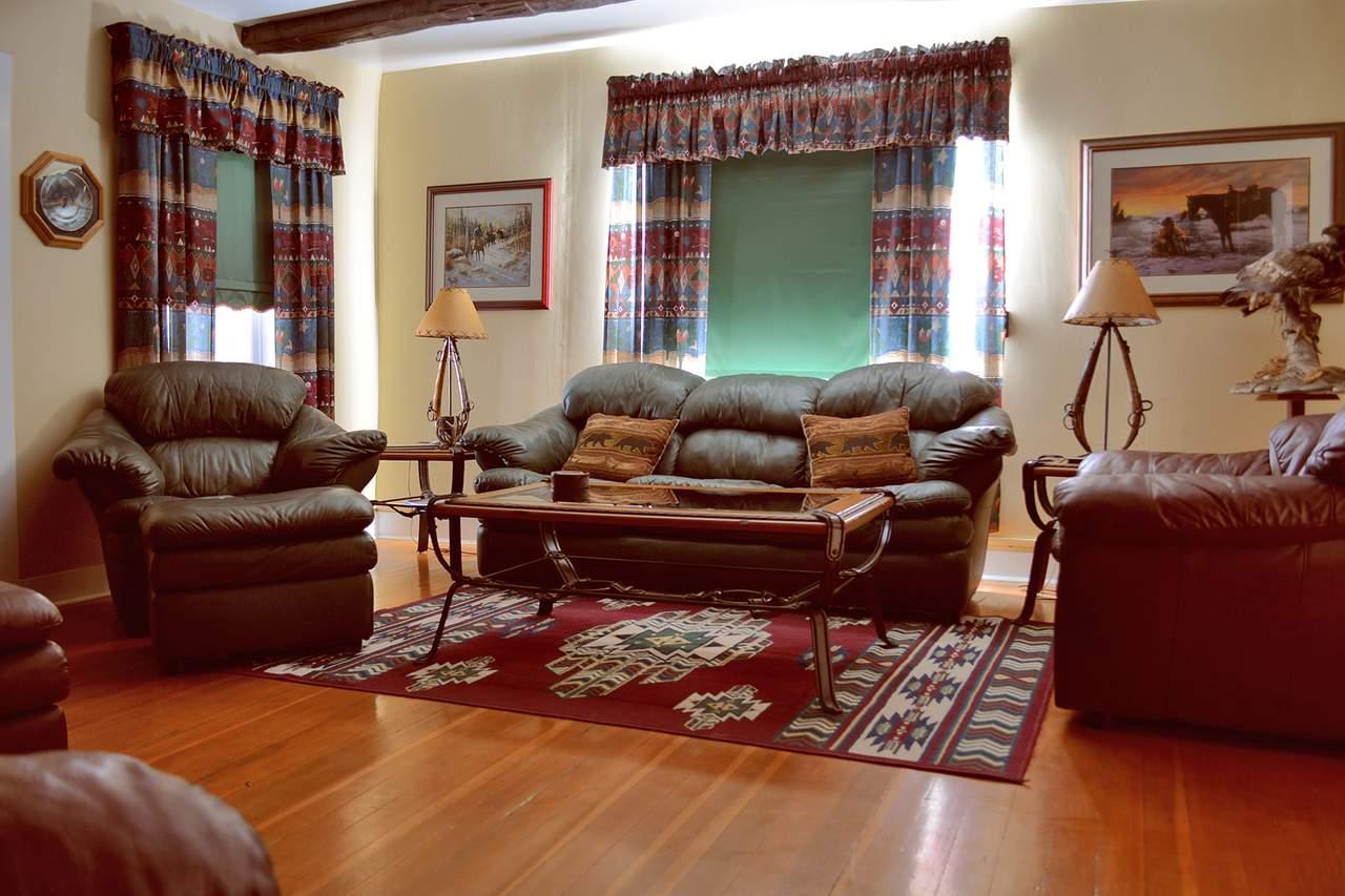 Wohnzimmer auf der Bar Diamond Guest Ranch