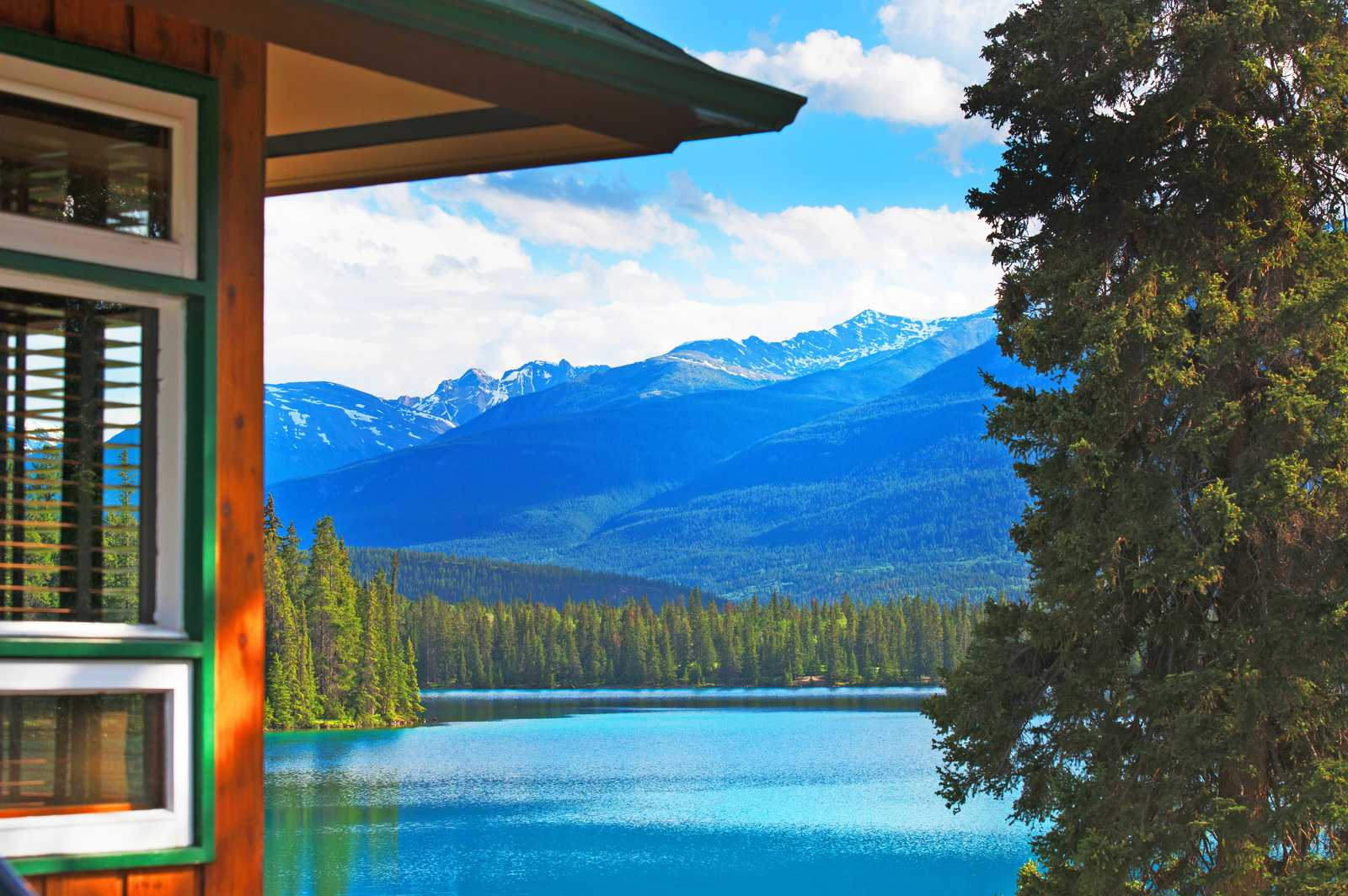 Blick auf den Lac Beauvert