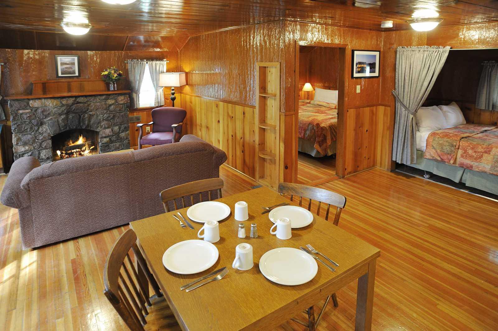 Zimmerbeispiel (Columbia Cabin)