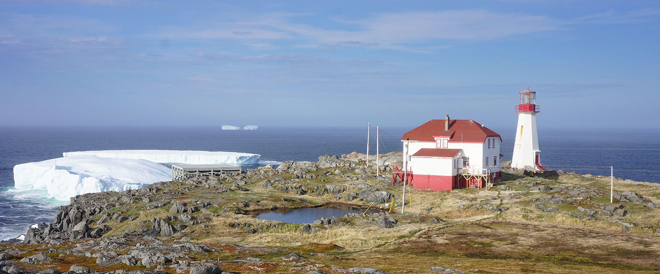 Lighthouse in Neufundland