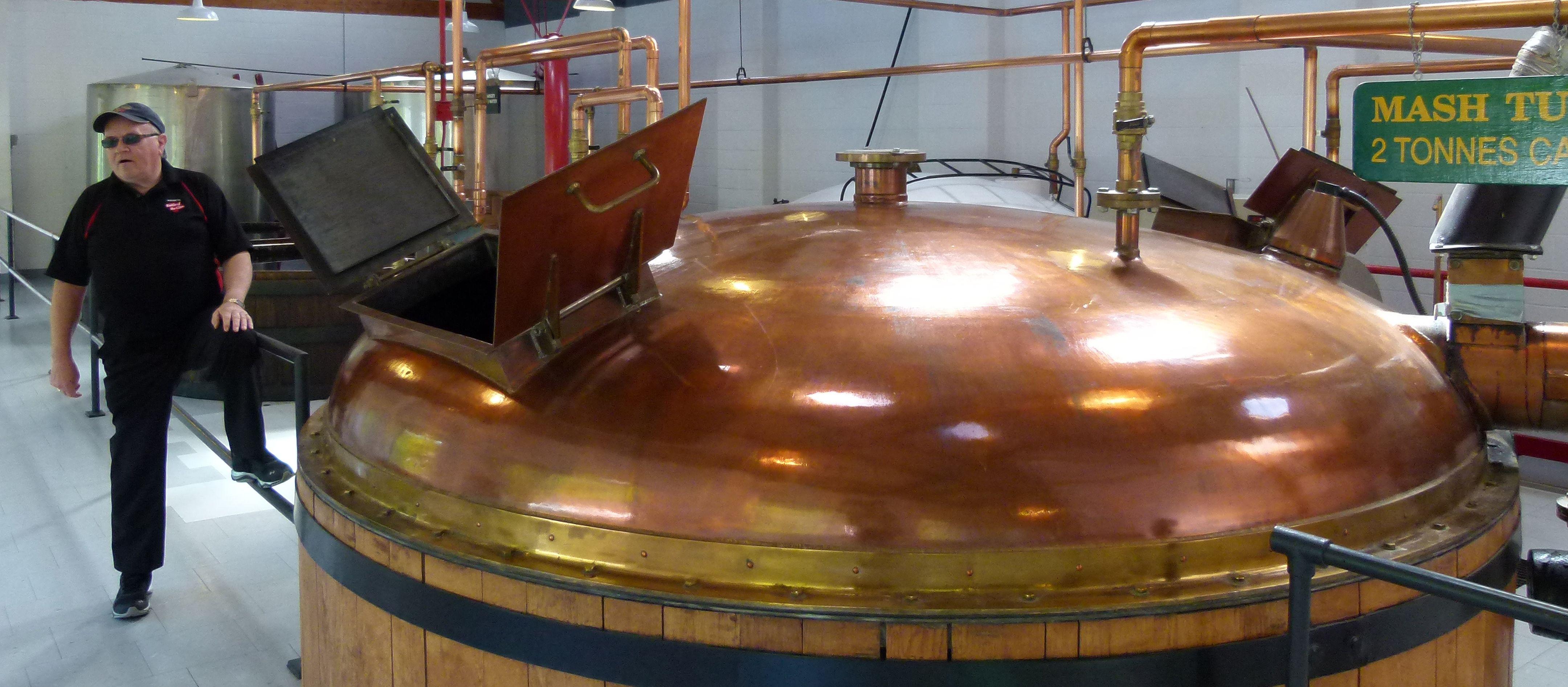 Whiskey-Tour in der Glenora Inn Distillery