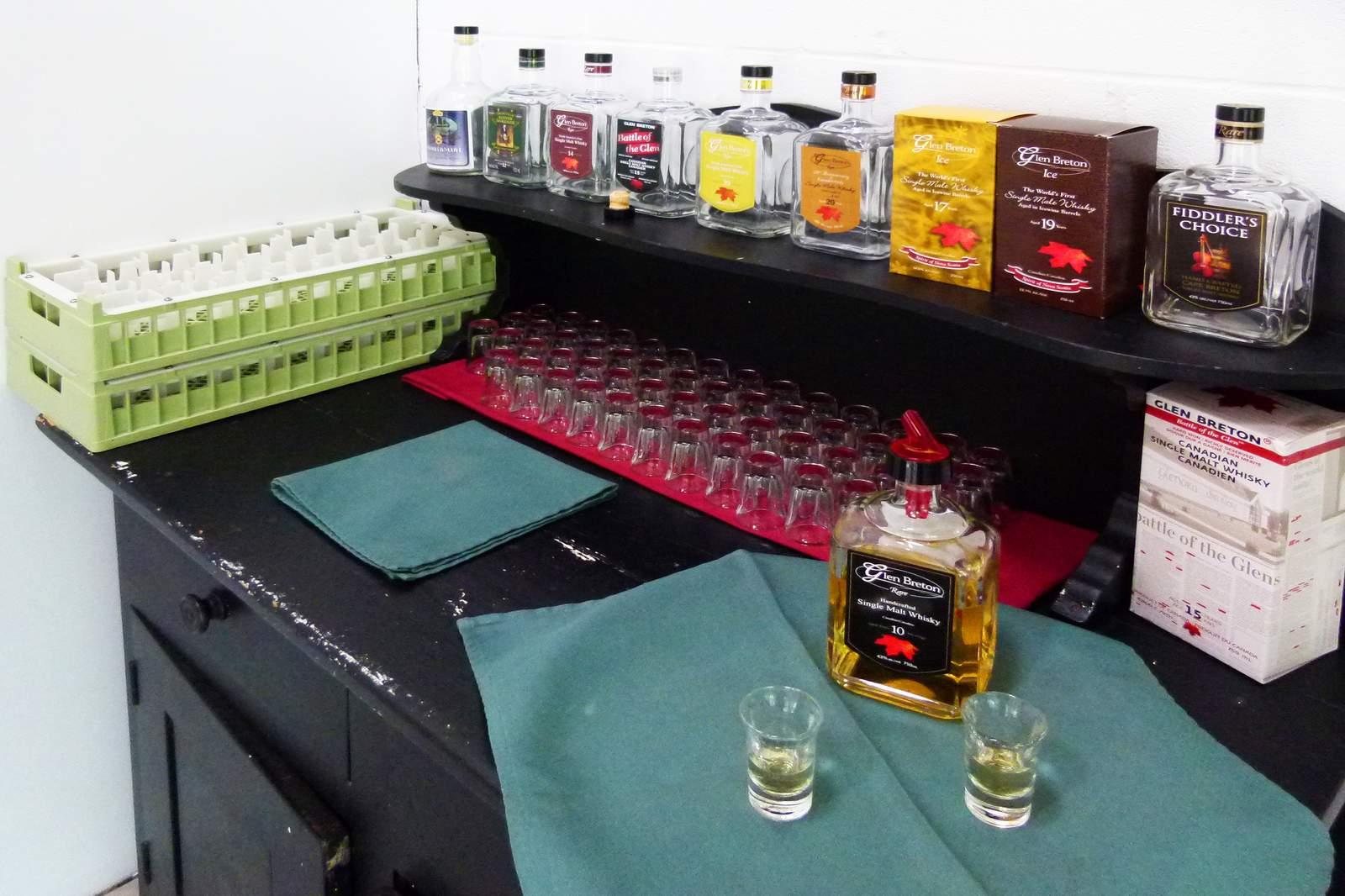 Whiskey-Brennerei