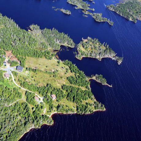 St. Esprit Lake Wilderness Holiday, Luftaufnahme vom Resort