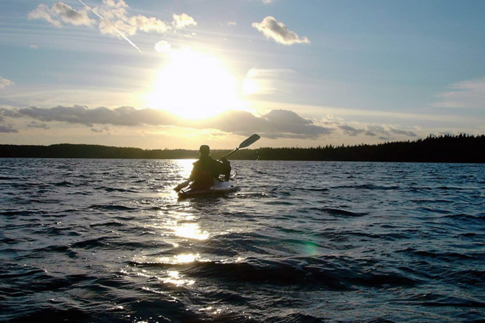 Ausflug mit dem Kayak