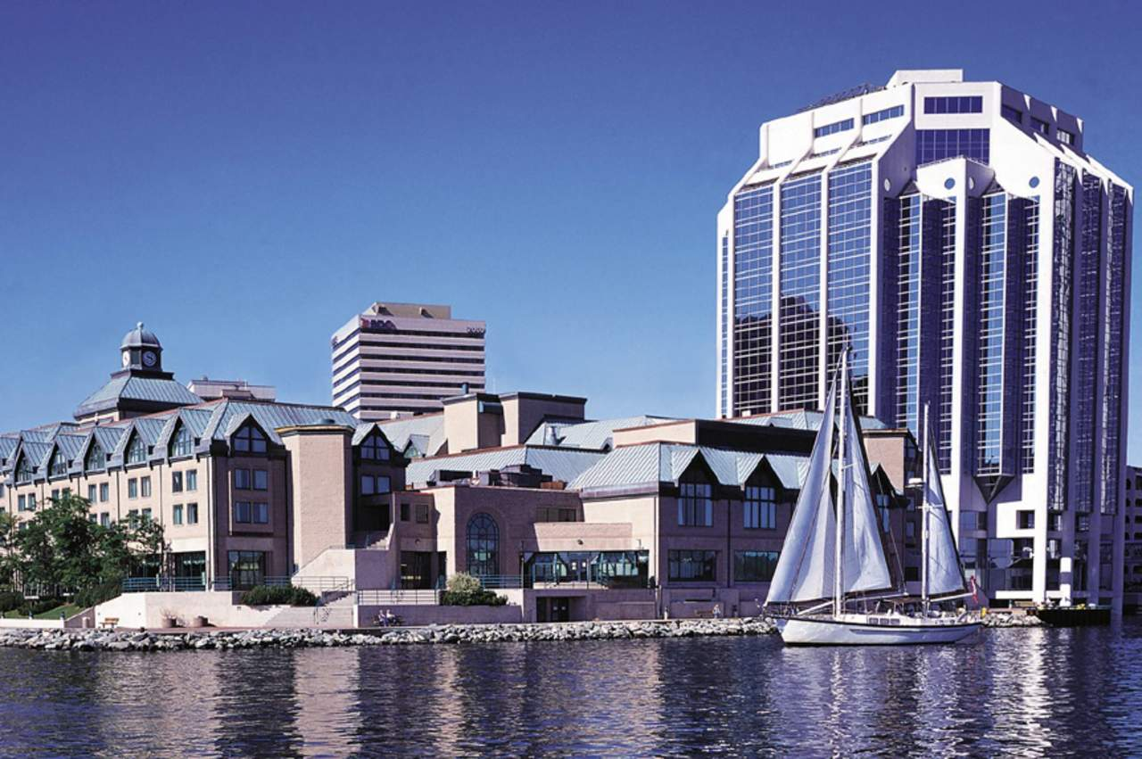 Halifax Marriott Harbourfront Hotel, Außenansicht Tag